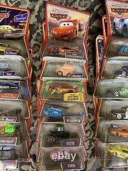 DISNEY PIXAR CARS MASSIVE LOT 36 Die Cast COLLECTION ALL NEW UNOPENED