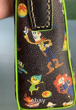 Disney Dooney and Bourke Pixar Hobo Bag Cars Monsters Inc Toy Story Up Coco