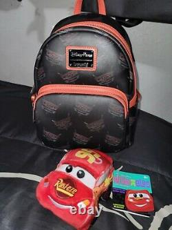 Disney Parks Exclusive Loungefly Pixar Cars Land Mini Backpack 15th Anniversary