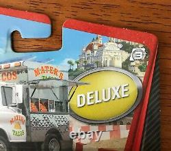 Disney Pixar Cars 2 #13 TACO TRUCK MATER Deluxe BNIP EXTREMELY RARE