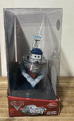 Disney Pixar Cars 2 Crabby Boat With Rolling Base Disney Store Rare