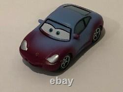 Disney Pixar Cars Color Changers Sally Plastic 2 in 1 Blue to Purple