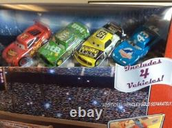 Disney Pixar World Of Cars Piston Cup 500 Toys R Us Exclusive W 4 Cars Rare 2002