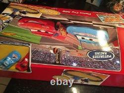 Disney Pixar's Cars Piston Cup 500 Track Set 2 Cars Toys R Us Exclusive New Seal