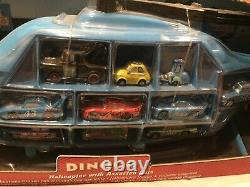 Disney STORE EXCLUSIVE Pixar Cars DINOCO HELICOPTER 10 CARRY CASE TOKYO DRIFT
