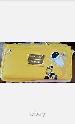 IN HAND Loungefly Disney Pixar WALL-E Plant Mini Backpack and Wallet Set NWT