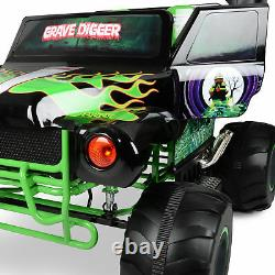 Kids Ride On Monster Truck Electric Car Toy Christmas Gift Sound Lights 2 speed