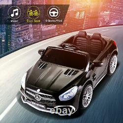 Mercedes-Benz Electric Car 12V Kids Ride On Toy Two seats with Storage Trunk