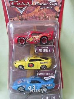 New Disney Lot The World of Cars Diecast Gift Pack, Movie Moments, Dinoco Dreams