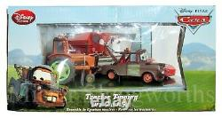 New Pixar Disney Store Exclusive Cars Tractor Tipping Frank Deluxe Die-cast Set